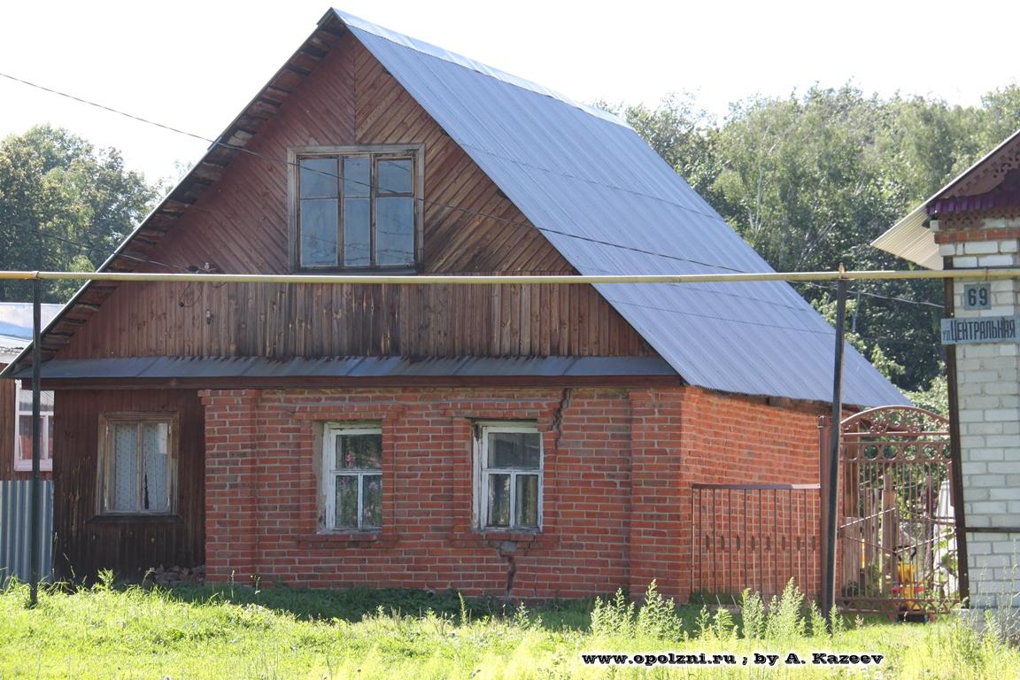 оползневые трещины на жилом доме (строительство на оползневой территории)