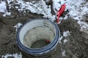 Защитные колодцы под измерительные створы на оползневых склонах. Деформационный мониторинг за опасными геологическими процессами