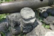 Керн оксфордских глин (юрские глины)