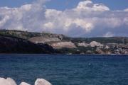 Глубокие блоковые оползни (оползневые ступени) в г. Балчик (Болгария)
