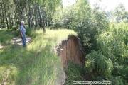 Стенка срыва глубокого блокового оползня (Постоев Г.П.)