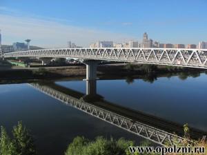 Метромост Митино-Строгинской линии метрополитена