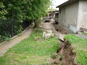 новый оползневой блок при активизации оползня 2006 в Москве