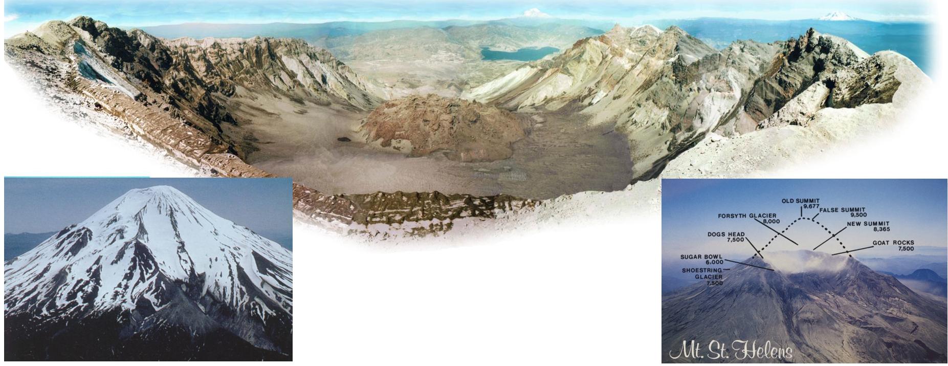 вулкан сент хеленс оползень постоев