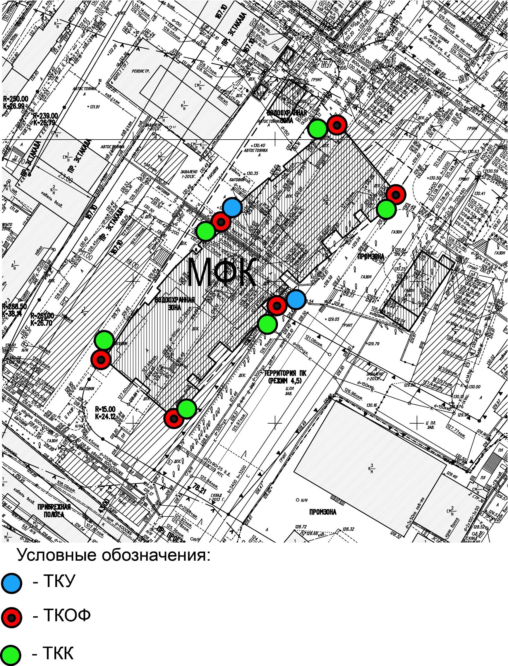 схема мониторинга опасных геологических процессов