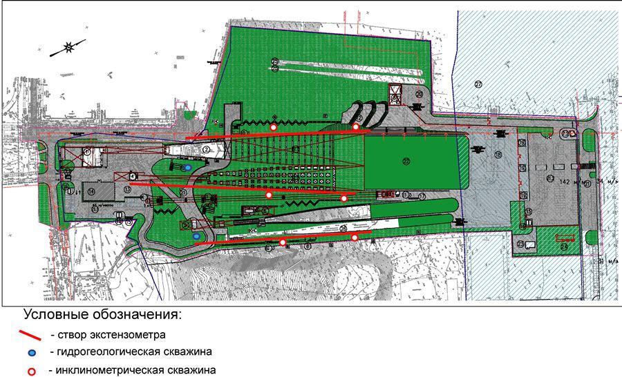 схема расположения трамплинов в нижнем новгороде