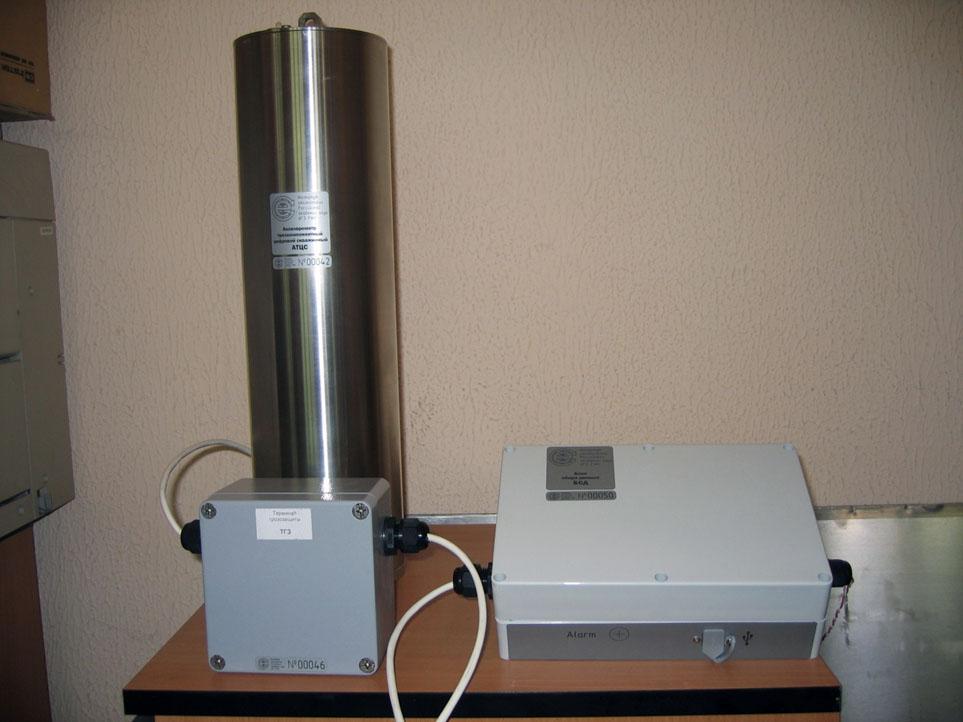 Внешний вид измерительного оборудования АТЦС